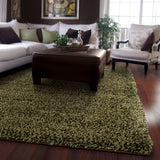 Oriental Weavers Loft 520F4 Green/Brown Area Rug Roomshot