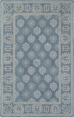 Oriental Weavers Manor 81201 Blue/ Grey Area Rug main image