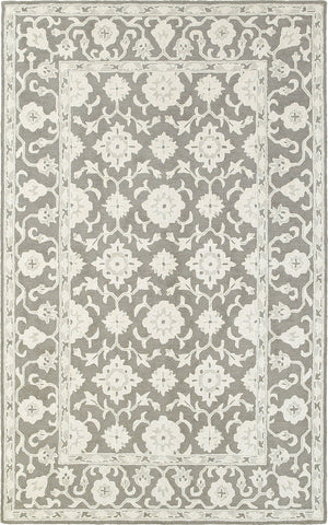 Oriental Weavers Manor 81204 Grey/ Stone Area Rug main image