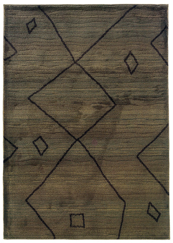 Oriental Weavers Marrakesh 1443X Brown/Brown Area Rug main image