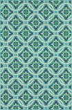 Oriental Weavers Meridian 5868L Blue/Green Area Rug main image