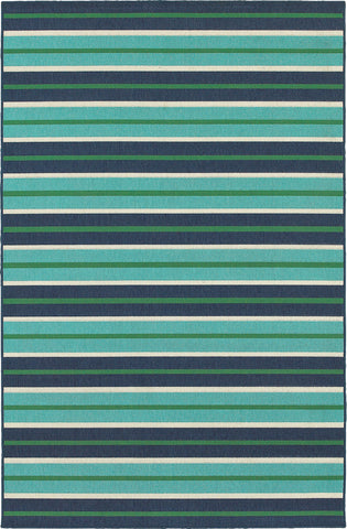 Oriental Weavers Meridian 9652F Blue/Green Area Rug main image