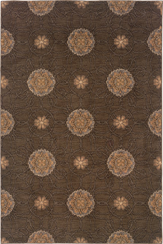 Oriental Weavers Milano 2860H Brown/Gold Area Rug main image
