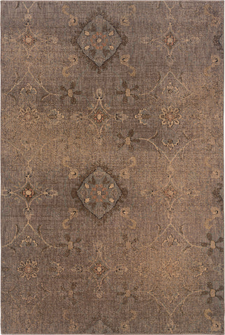 Oriental Weavers Milano 2947A Grey/Brown Area Rug main image