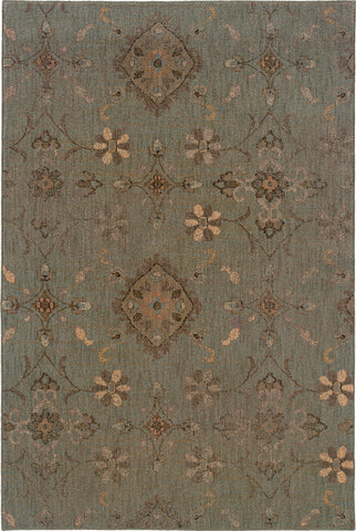 Oriental Weavers Milano 2947D Blue/Grey Area Rug main image