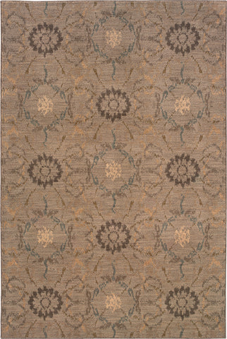 Oriental Weavers Milano 2962D Grey/Brown Area Rug main image