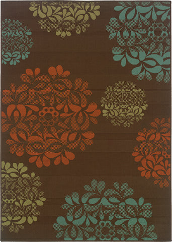 Oriental Weavers Montego 2635N Brown/Blue Area Rug main image