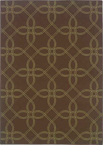 Oriental Weavers Montego 6991N Brown/Green Area Rug main image