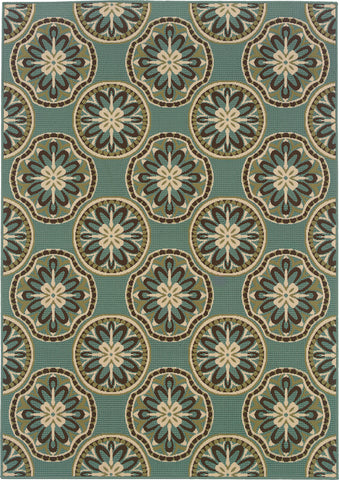Oriental Weavers Montego 8323L Blue/Ivory Area Rug main image