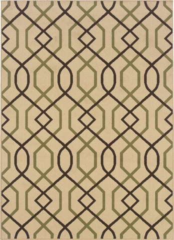 Oriental Weavers Montego 896J6 Ivory/Brown Area Rug main image