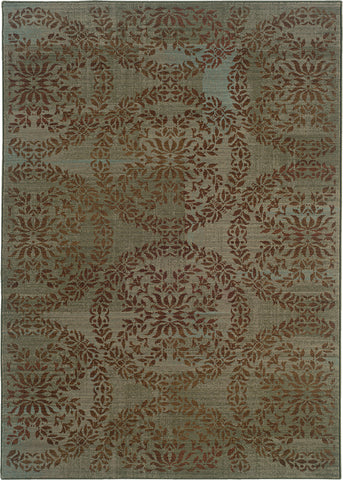 Oriental Weavers Nadira 1330L Blue/Brown Area Rug main image