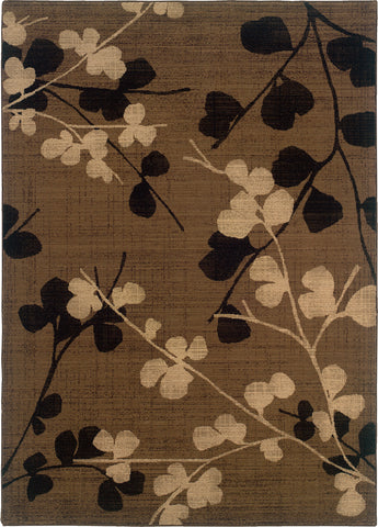 Oriental Weavers Nadira 1334N Brown/Black Area Rug main image