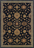 Oriental Weavers Nadira 312K2 Black/Blue Area Rug main image
