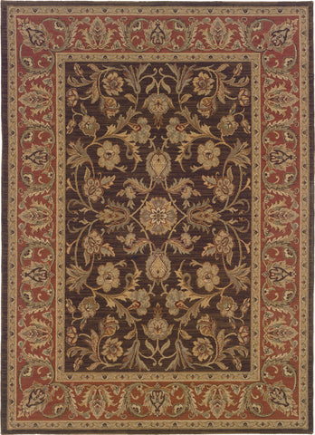 Oriental Weavers Nadira 042A2 Brown/Rust Area Rug main image