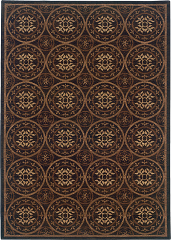 Oriental Weavers Nadira 563N2 Brown/Tan Area Rug main image