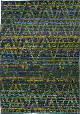 Oriental Weavers Nomad 305G5 Green/Blue Area Rug main image