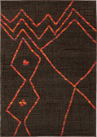 Oriental Weavers Nomad 6991N Brown/Orange Area Rug main image