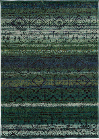 Oriental Weavers Nomad 8123G Green/Blue Area Rug main image