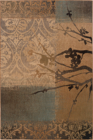 Oriental Weavers Palermo 2856B Gold/Grey Area Rug main image