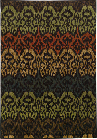 Oriental Weavers Parker 5341F Black/Multi Area Rug main image