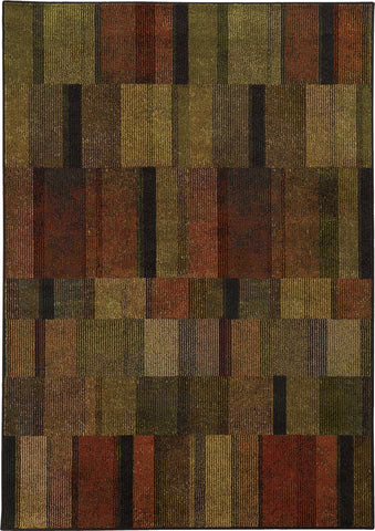 Oriental Weavers Parker 5589A Brown/Rust Area Rug main image