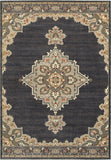 Oriental Weavers Pasha 072E2 Blue/ Grey Area Rug main image