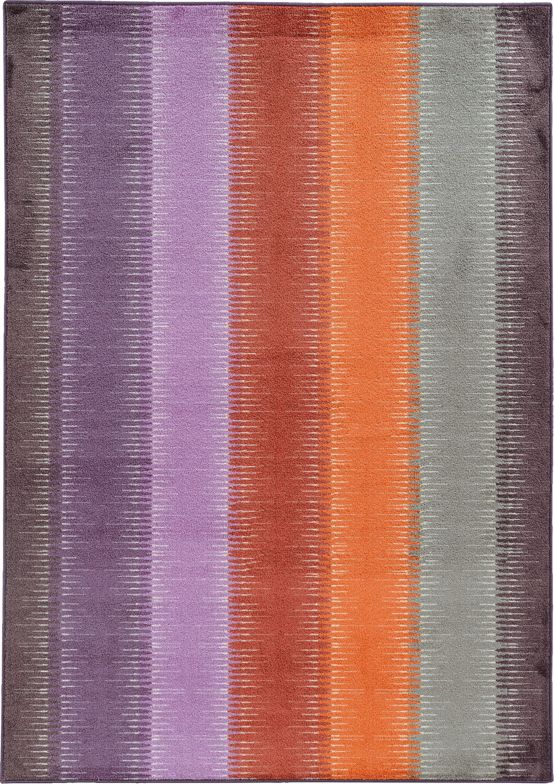Pantone Universe Prismatic 75315 Purple/ Orange Area Rug main image