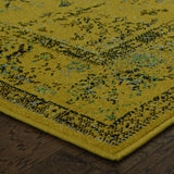 Oriental Weavers Revival 3251J Gold/Yellow Area Rug Corner