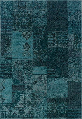 Oriental Weavers Revival 501G2 Teal/Grey Area Rug main image