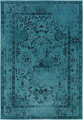 Oriental Weavers Revival 550H2 Teal/Grey Area Rug main image