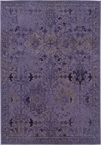 Oriental Weavers Revival 8023M Purple/Grey Area Rug main image