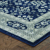 Oriental Weavers Richmond 119B3 Navy/Grey Area Rug Corner