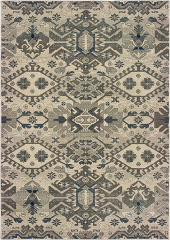 Oriental Weavers Richmond 1807J Grey/Brown Area Rug main image