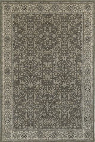 Oriental Weavers Richmond 001E3 Grey/Ivory Area Rug main image