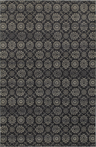 Oriental Weavers Richmond 214H3 Navy/Grey Area Rug main image