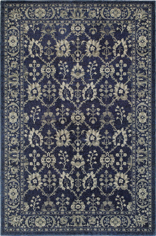 Oriental Weavers Richmond 8020K Navy/Grey Area Rug main image