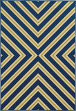 Oriental Weavers Riviera 4589L Navy/Green Area Rug main image