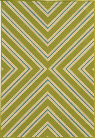 Oriental Weavers Riviera 4589M Green/Blue Area Rug main image