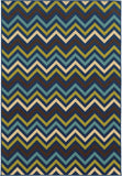 Oriental Weavers Riviera 4593S Navy/Blue Area Rug main image