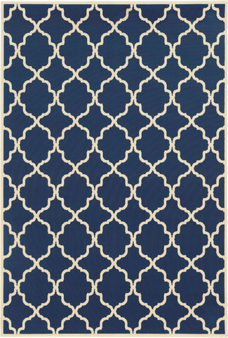Oriental Weavers Riviera 4770L Navy/Ivory Area Rug main image