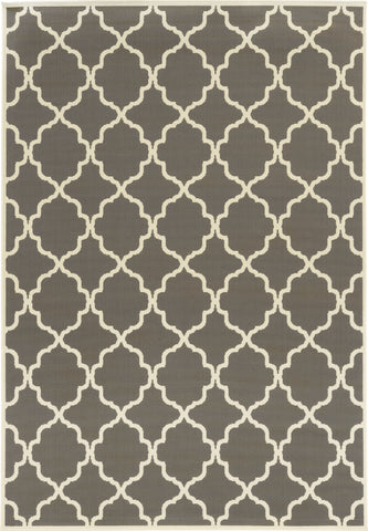 Oriental Weavers Riviera 4770W Charcoal/Ivory Area Rug main image