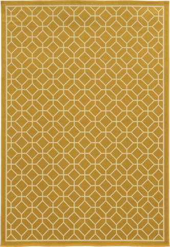 Oriental Weavers Riviera 4771H Gold/Ivory Area Rug main image