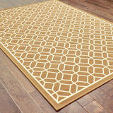 Oriental Weavers Riviera 4771L Brown/Ivory Area Rug Closeup