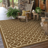 Oriental Weavers Riviera 4771L Brown/Ivory Area Rug Roomshot