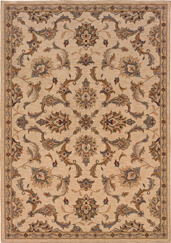 Oriental Weavers Salerno 2838B Ivory/Gold Area Rug main image