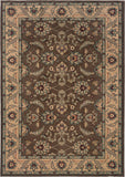 Oriental Weavers Salerno 2859D Brown/Ivory Area Rug main image