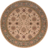 Oriental Weavers Salerno 2859E Ivory/Blue Area Rug 7' 8 Round