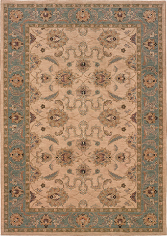 Oriental Weavers Salerno 2859E Ivory/Blue Area Rug main image