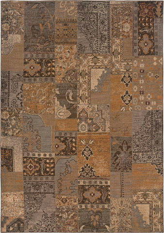 Oriental Weavers Salerno 2941A Gold/Grey Area Rug main image