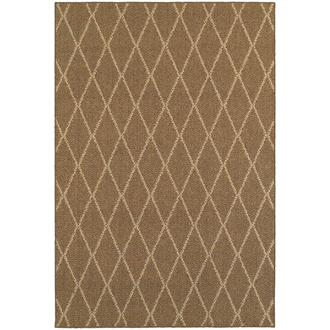 Oriental Weavers Santa Rosa 090N6 Brown/ Sand Area Rug main image